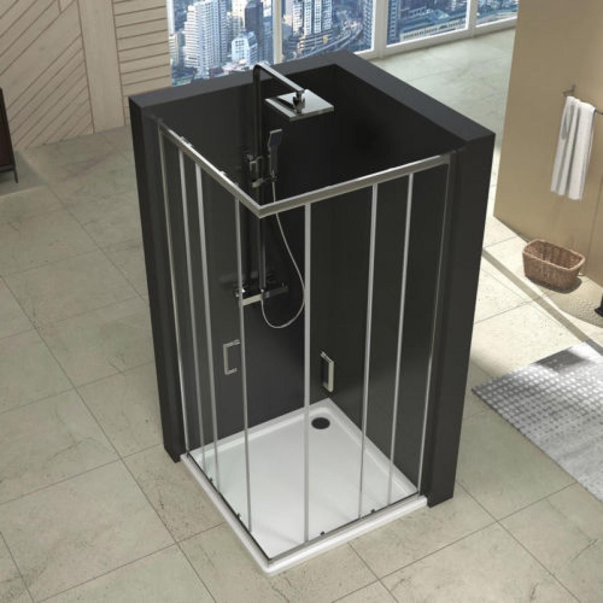 duschkabine 80x80 mit duschtasse duschabtrennung. Black Bedroom Furniture Sets. Home Design Ideas